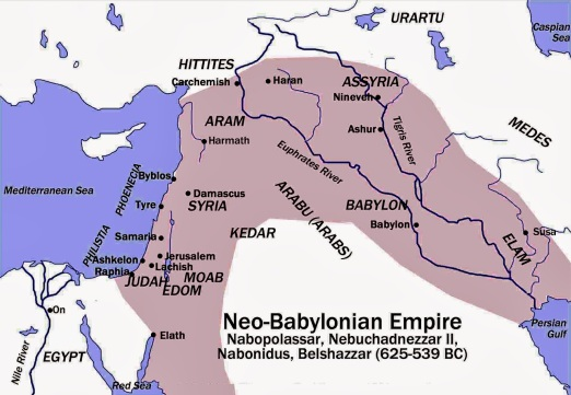 neo-babylonian-empire - Jewish Exile - Chosen people of the Demiurge - Books of Foundation - Peter Crawford